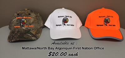 Mattawa North Bay Algonquin Hats